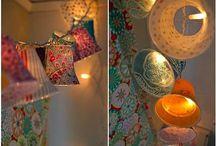 Lampen en kaarsen