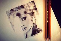I disegni che faccio❤️. / Disegno drawing matita art