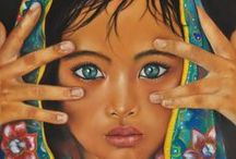 Innocent face's / Paintings