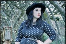 Plus-Sized Women's Fashion / A journey to body positivity with our hats to match.