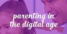 Parenting in the Digital Age / Empowering parents to bring their offline parenting skills online. www.digitalparentingcoach.com