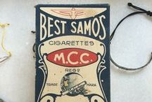 Old Cigarette Packages