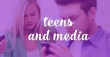Teens and Media / Encouraging parents to communicate with their teens on media - the good and the bad. www.digitalparentingcoach.com