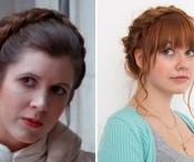 Geek Hairstyles & Accessories / Hairstyles inspired by sci-fi, fantasy and pop culture TV and film.