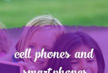 Cell phones and Smartphones / Tips and resources on cell phone and smartphone usage, family media agreements.