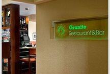 Granite Restaurant & Bar's Seasonal Menus