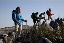 Hiking  / Gear up for everything from a day trip on Table Mountain to a multi-day trek through the Drakensberg. Includes packs and bags, outdoor apparel and lightweight hiking essentials.