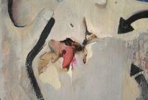 Senza titolo, 1998 / Alessandro De Michle, Untitled, 1998 Oil on pre-treated canvas, 90 x 150 cm