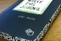 wreck this journal. / ideas for my wreck this journal by keri smith