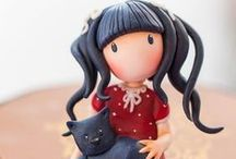 Polymer clay creations / Art dolls and sculptures created by polymer clay.