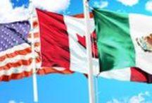 NAFTA / A board profiling the North American Free Trade Agreement. #bbb4m