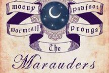 The Marauders / Moony (Remus Lupin), Wormtail (Peter Pettigrew), Padfoot (Sirius Black) & Prongs (James Potter)