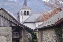 Patrimoine du Pays des Hurtières / Notre patrimoine historique rural et montagnard sur les 5 communes en Porte de Maurienne - Savoie - France
