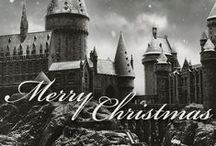Christmas Behind the Magic / Christmas and Snow Harry Potter Style