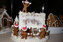 gingerbread houses / С наступающим, счастья, домашнего тепла, любви!