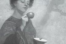 tarot, tea and palmistry.