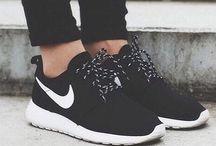 gym clothes, shoes & gear