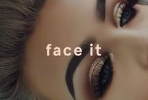 Face It / All the makeup inspo you need to keep your face looking oh so on fleek.