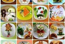 Animals & Funny Food