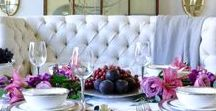 Tablescapes / All about table settings and centerpieces for any occasion