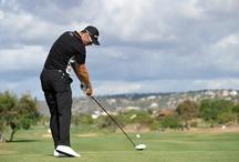 Stars beim Golfen
