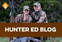 Hunter Ed Blog / Check out what we're talking about with these pins from our blog! / by Hunter Ed