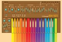 Roland Synths 1980 - 1990 / Roland Synths of the 1980's