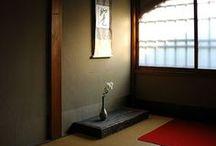 Tokonoma / Mi pequeño espacio para Kakemono, Sumi-e, Shodō, Ikebana, Hanakago y Bonsai. / by MiriaM