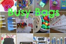 Busy Bags for Quiet Time / Not all Preschoolers sleep during quiet time and to keep them busy they get a busy bag that helps them to play quietly on their mats. I like to have many different busy bags and this board is full of excellent ideas to complete this mission. / by Carolin Chubinsky