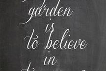 About gardening