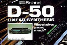 Vintage Roland Ads
