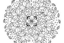 Fall Mandalas / For the Fall unit a collection of coloring pages, mandalas and logical thinking for preschool students. / by Carolin Chubinsky