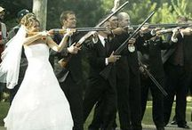 """Hunter Weddings / """"Couples who hunt together, stay together""""  A collection of hunters in love!"""