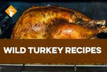 Wild Turkey Recipes / It's Turkey Season! After nabbing your toms, try these recipes. / by Hunter Ed