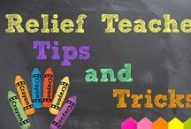 Relief teaching / Relief teaching tips and activities