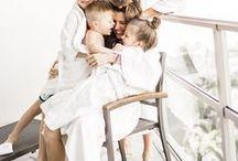 FAMILY / Family photography - family photos - black and white family photos - sibling photos - newborn photos.