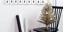 CHRISTMAS / Christmas decor, style, and treats with a modern and minimalistic feel.