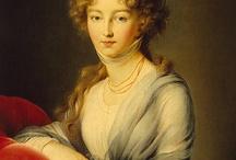 1790-1800 fashion in art.
