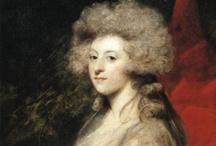 1780-1790 fashion in art.