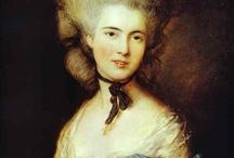1770-1780 fashion in art.