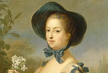 1760-1770 fashion in art.