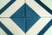 Modelos 2013  / Colección de Mosaicos Studio Victoria, con inspiración geometría.