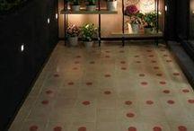DiFlori / Nuevo proyecto de los diseñadores de interiores Arfefacto, en la florería DiFlori, de Guadalajara. Mosaico de Studio Victoria.