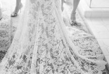 Beautiful Lace Wedding Dress / by Gerry Golia