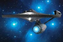 Star ship - Star Trek - Uzay yolu / star ship - star trek, uzay yolu, spock, captain kirk, dr mccoy,