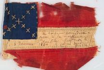 Civil War - Flags / This Board contains images of various civil war flags carried by individual troops/companies. Each is so unique and special.  Pin as much as you like.  No limits. / by Debbe Adkins Collier