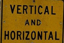horizontal Is vertical