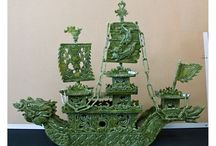 The art of Jade carving / by Ron ata