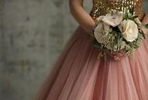 Dreamy Dresses / Beautiful dresses for special occasions. Embellishments, lace and lots of intricate detail.