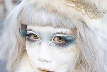 Shironuri Makeup & Style (Model Minori)